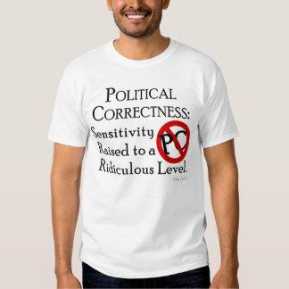 Corrección política: camiseta