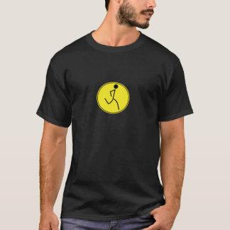 Corredor (amarillo) camiseta