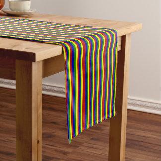 CORREDOR Color-FLACO primario de la TABLA de Camino De Mesas Corto