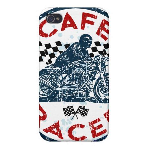 Corredor de Moto iPhone 4 Carcasa