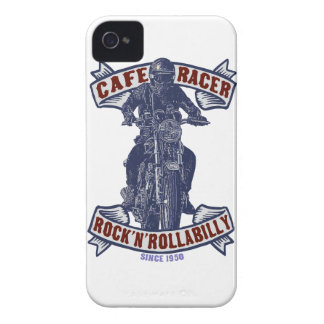 Corredor del café iPhone 4 carcasas