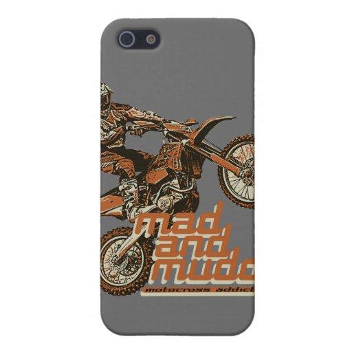 Corredor del motocrós iPhone 5 carcasa