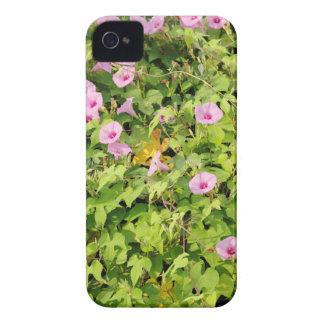 Correhuelas rosadas Bush Funda Para iPhone 4 De Case-Mate