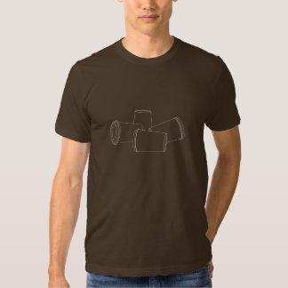 """""""Corriendo en"""" camiseta vacía"""