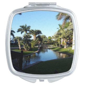 Corriente de Tenerife con el espejo compacto de