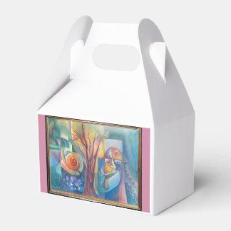 Corriente del agua caja para regalos