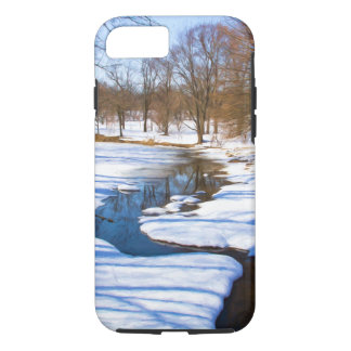 Corriente del invierno funda iPhone 7
