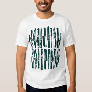 Cortado y cortado en cuadritos - verde oscuro camisas