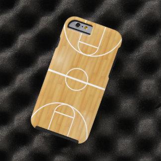 Corte de la bola de la cesta funda resistente iPhone 6