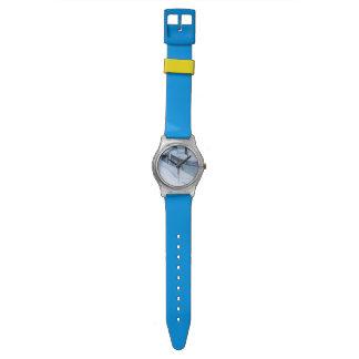 Corte de la nieve reloj de pulsera