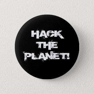 Corte el botón del planeta