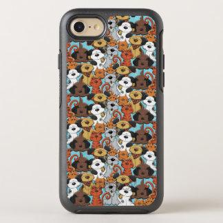 Corte el modelo del animal de Brown Funda OtterBox Symmetry Para iPhone 8/7