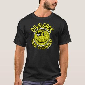 Corte el planeta camiseta