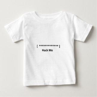 Corte la contraseña camiseta para bebé
