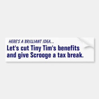 Corte las ventajas de Tim minúsculo… Pegatina Para Coche