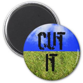 córtelo imán para cortar el verde