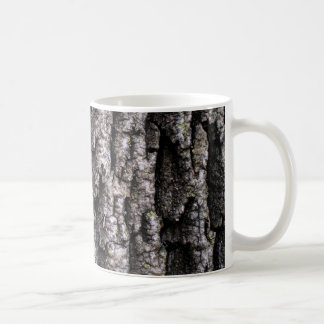 Corteza de árbol taza de café