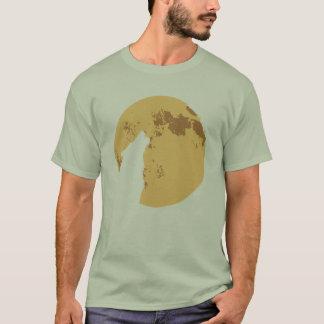 corteza en la luna camiseta