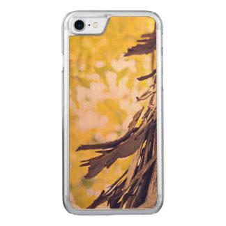 Corteza enrrollada funda para iPhone 8/7 de carved