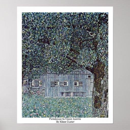 Cortijo en Austria septentrional de Klimt Gustavo Posters