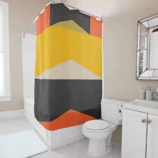 Cortina De Baño Formas geométricas modernas del arte abstracto de