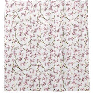 Cortina De Baño Impresión de la flor de cerezo de Sakura