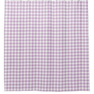 Cortina De Baño La guinga blanca (purpúrea clara) de la lila