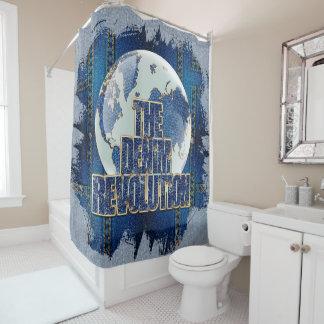 Cortina De Baño La revolución del dril de algodón