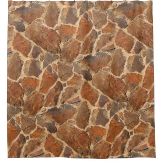 Cortina De Baño Naranja de oro de la estructura de la pared de
