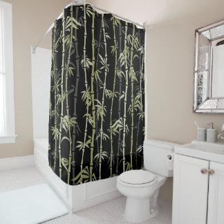 Cortina de ducha de bambú del diseño del estilo