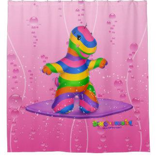 Cortina de ducha de Dino-Buddies™ - BO que