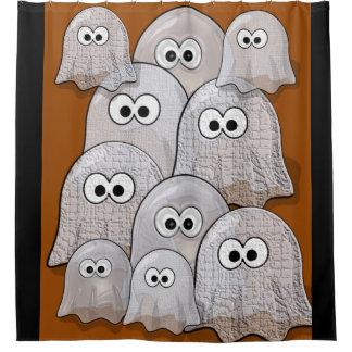 Cortina de ducha de Halloween