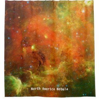 Cortina de ducha de la nebulosa de Norteamérica