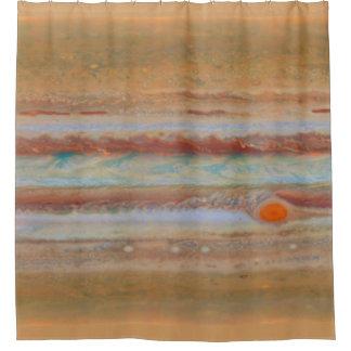 Cortina de ducha de la superficie el | de Júpiter