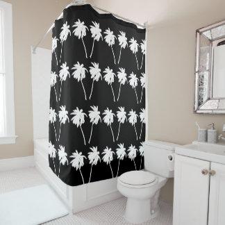 Cortina de ducha de las palmeras