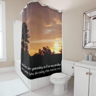 Cortina de ducha del cuarto de baño