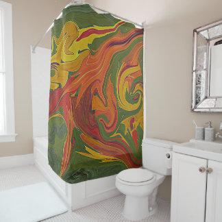 cortina de ducha del diseñador