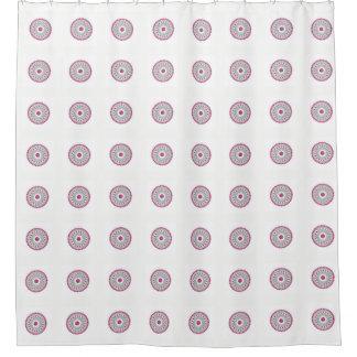 Cortina De Ducha Diagrama de la zona horaria de los diales de reloj