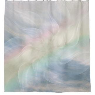 Cortina De Ducha Diseño en colores pastel de la mandala del arco