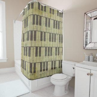 Cortina de ducha dominante del cuarto de baño de