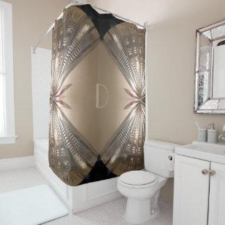 Cortina de ducha dramática elegante