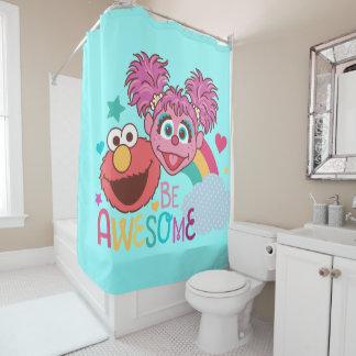 Cortina De Ducha El Sesame Street el | Elmo y Abby - sea