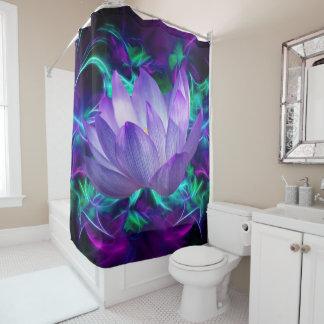 Cortina De Ducha Flor de loto púrpura y su significado