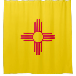 Cortina De Ducha Gráfico dinámico de la bandera del estado de New