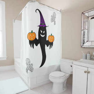 Cortina de ducha Halloween