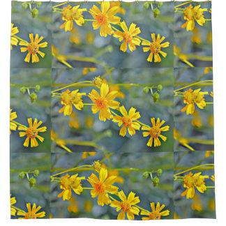 Cortina de ducha impresionista del Wildflower