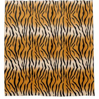 Cortina De Ducha Modelo contemporáneo moderno del tigre