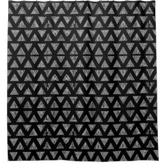Cortina De Ducha Negro y gris del art déco