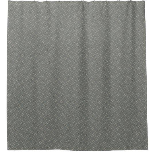 Cortina de ducha plateada de metal del diseñador
