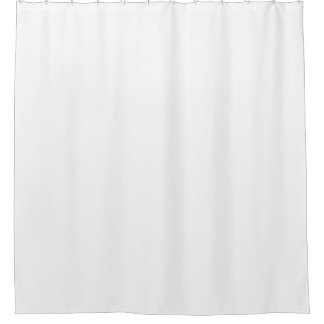 Cortina De Ducha showercurtain llano blanco